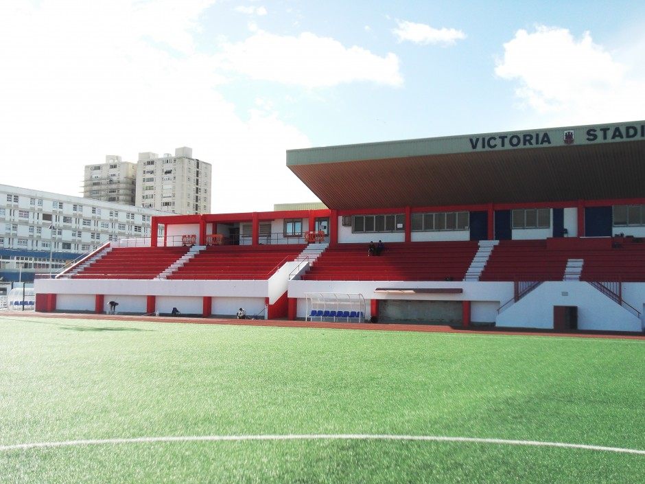 Victoria stadium face lift